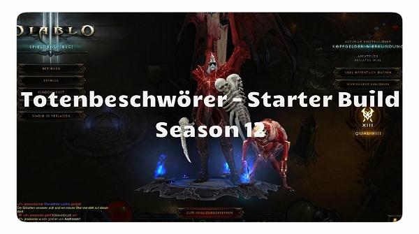 Hexendoktor Starter Build Season