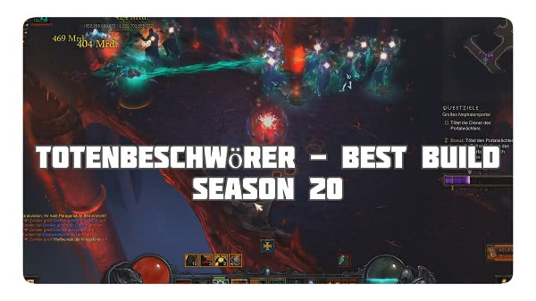Totenbeschwörer: Best Build in Season 20