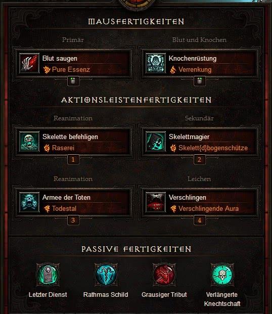 Necromancer Build Diablo  Season