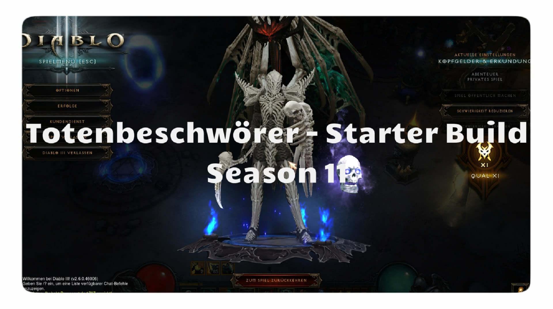 Mage Season  Starter Build