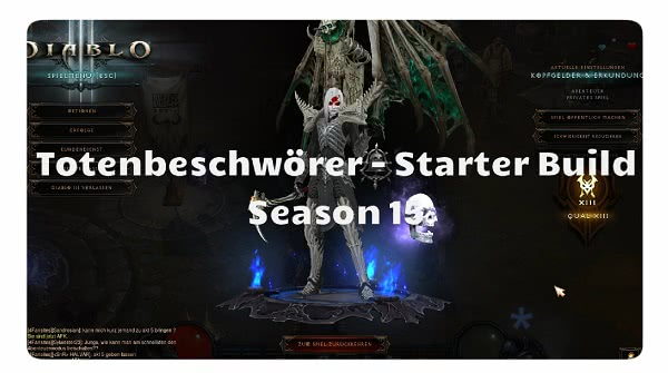 Totenbeschwörer: Starter Build Season 15