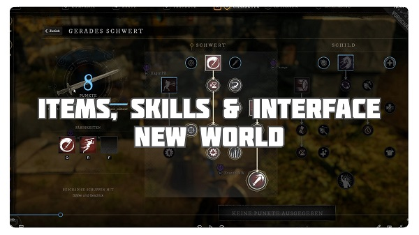 New World: Items, Skills & Interface Preview (Level 60)