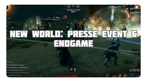 New World: Presse Event & Endgame
