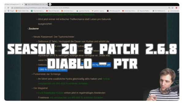 Patchnotes zu Patch 2.6.8 & Season 20