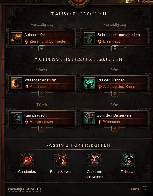 Diablo  Raekors Build