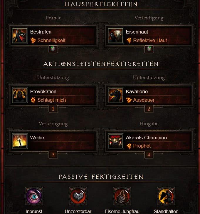 Diablo  Kreuzritter Bombardement Build