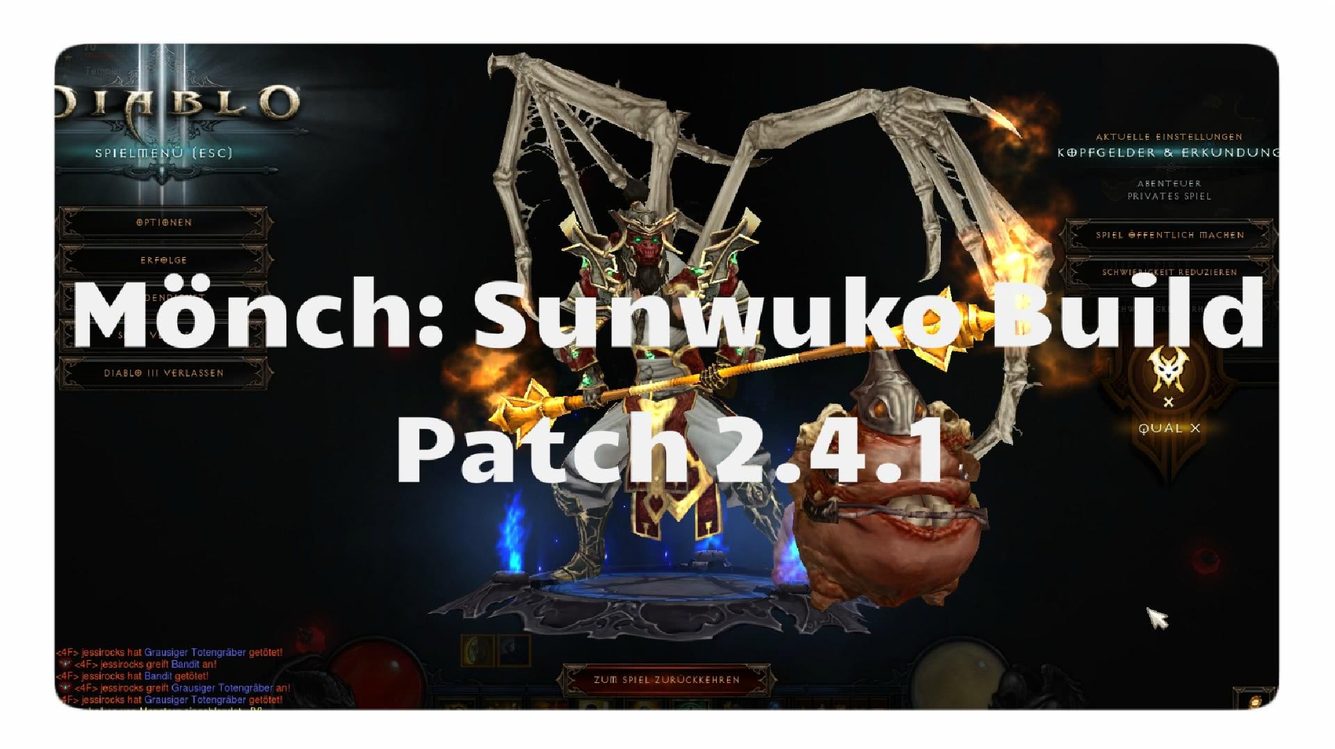 Build Sunwuko Diablo