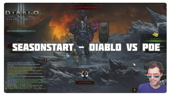 Seasonstart: Diablo vs PoE
