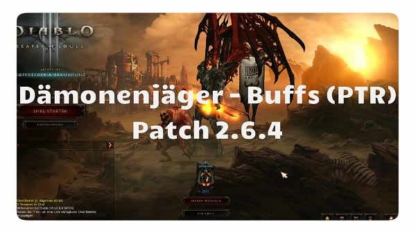Patch 2.6.4: Dämonenjäger Buffs