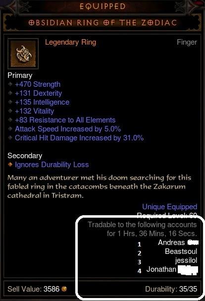 Reaper of Souls Trading