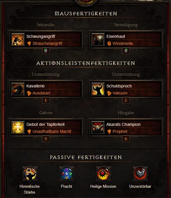 Diablo  Season  Best Build Kreuzritter
