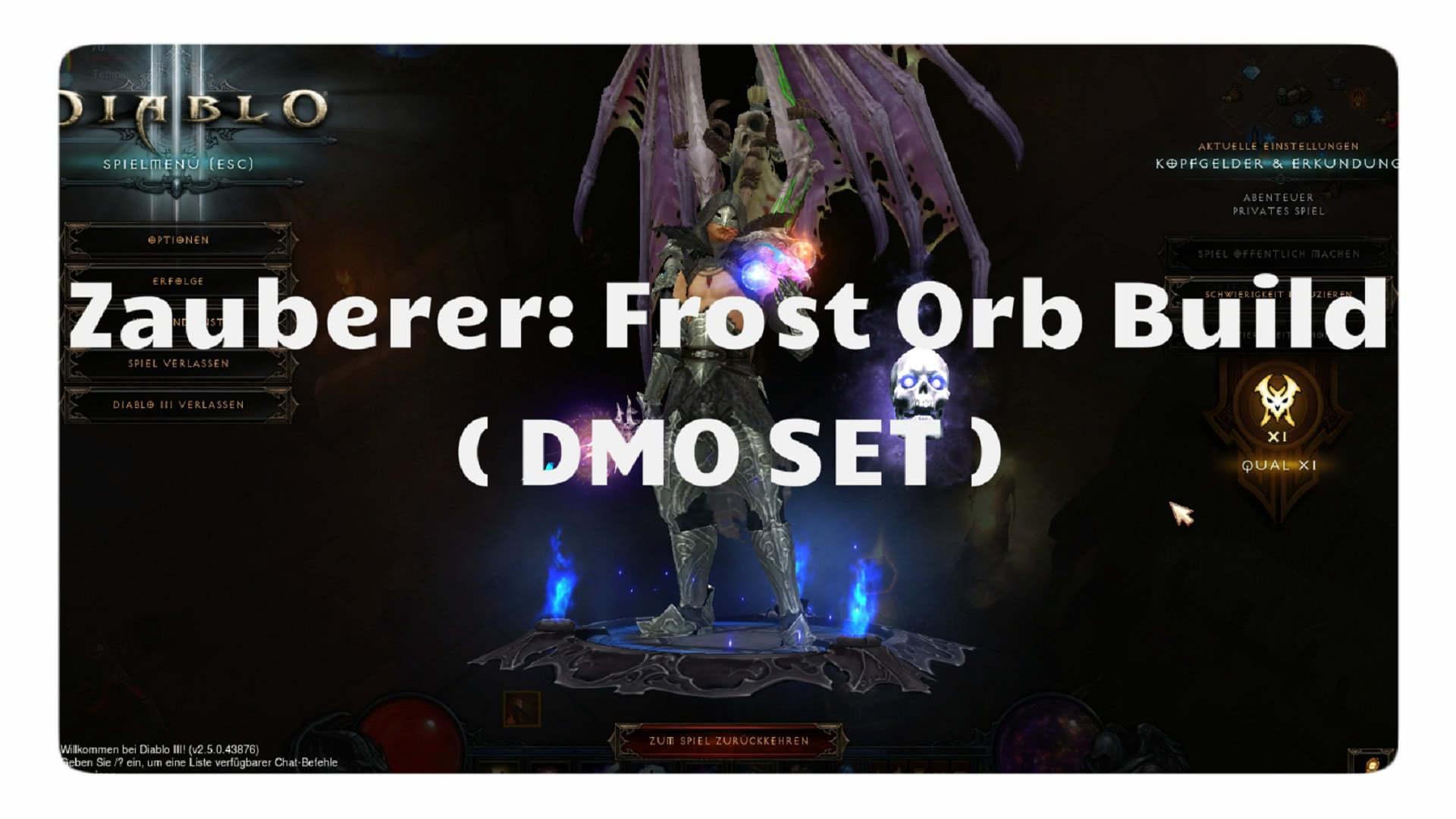 Frost Orb Build Diablo