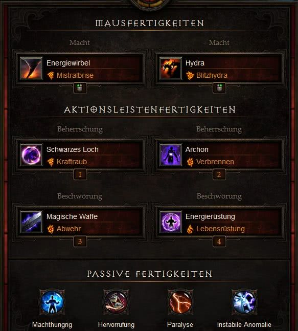 Diablo  Season  Mage Build