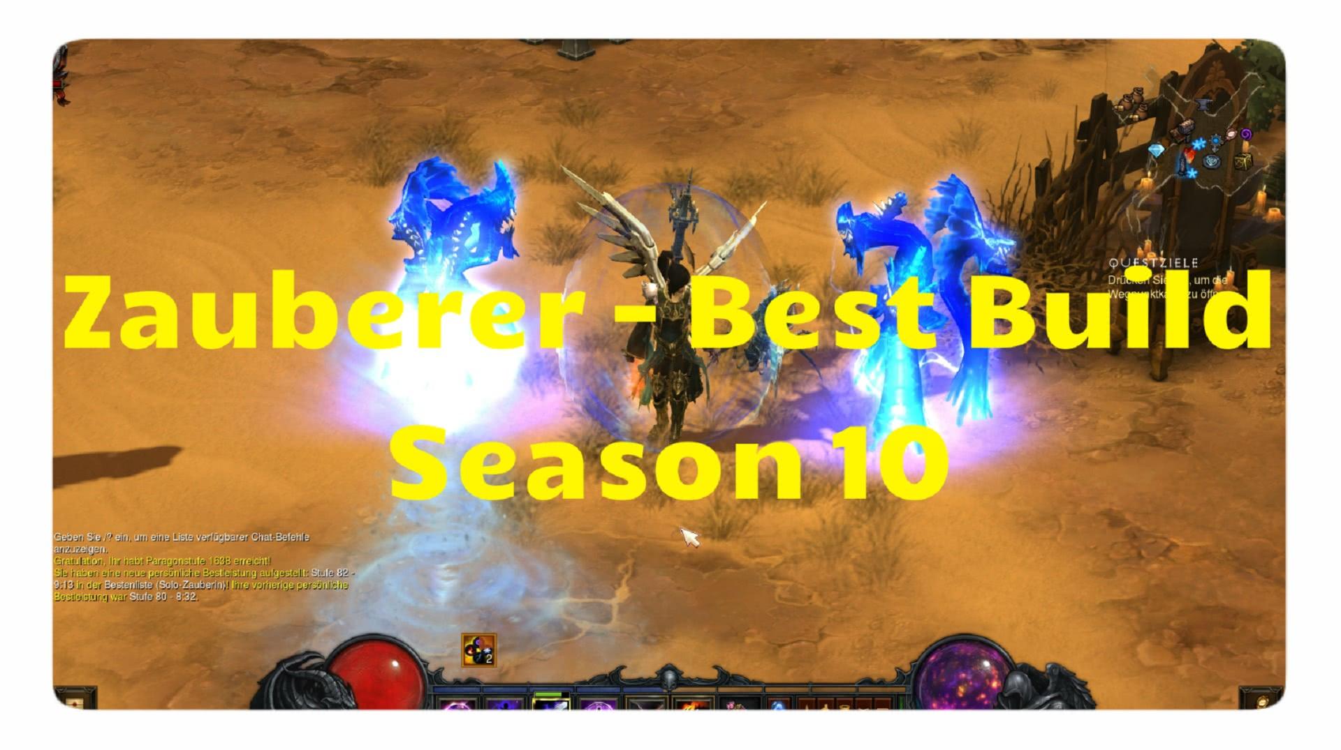 Diablo  Season  Bestr Build Zauberer