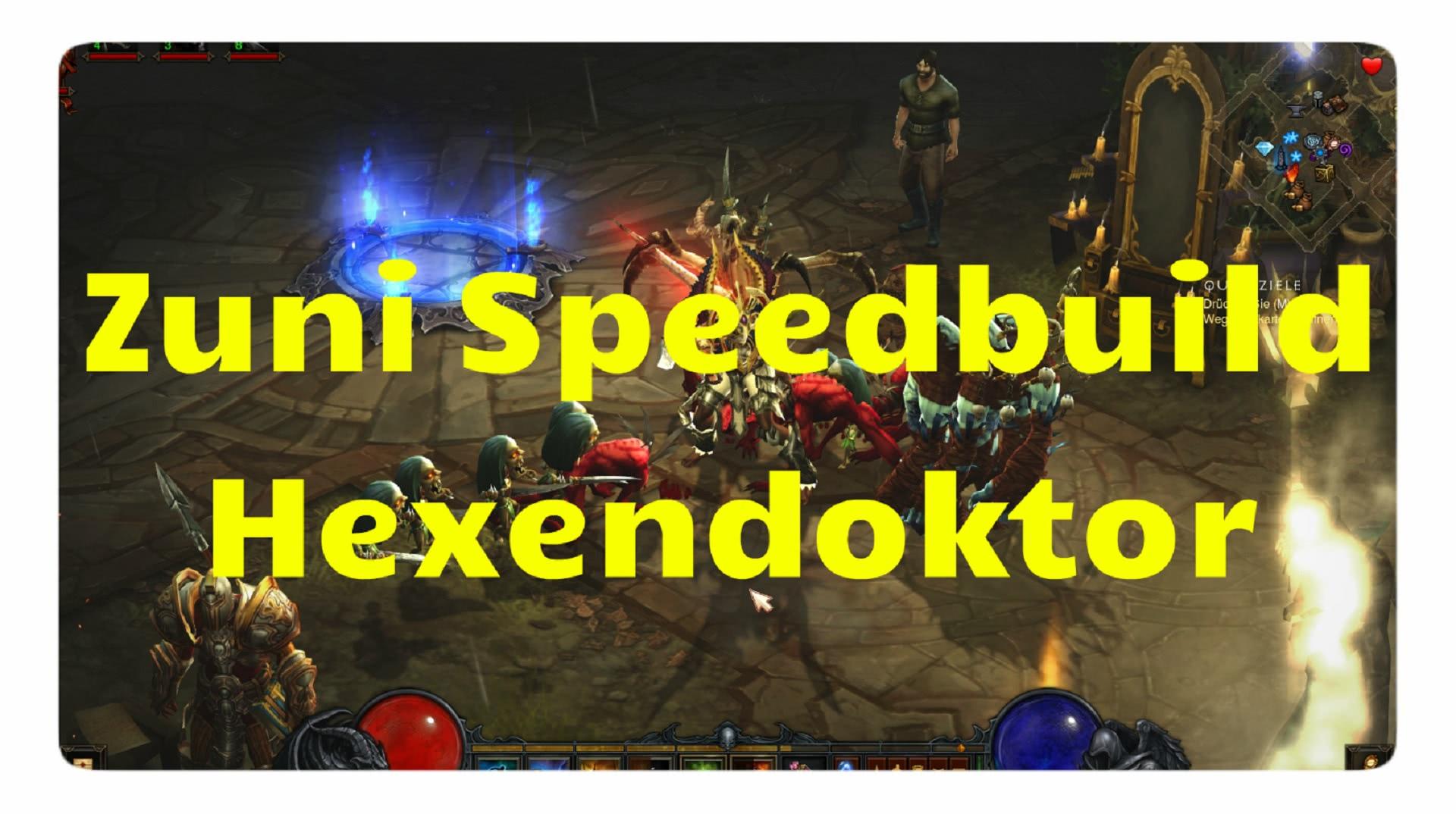 Diablo  Season Wd Speed Farm Build