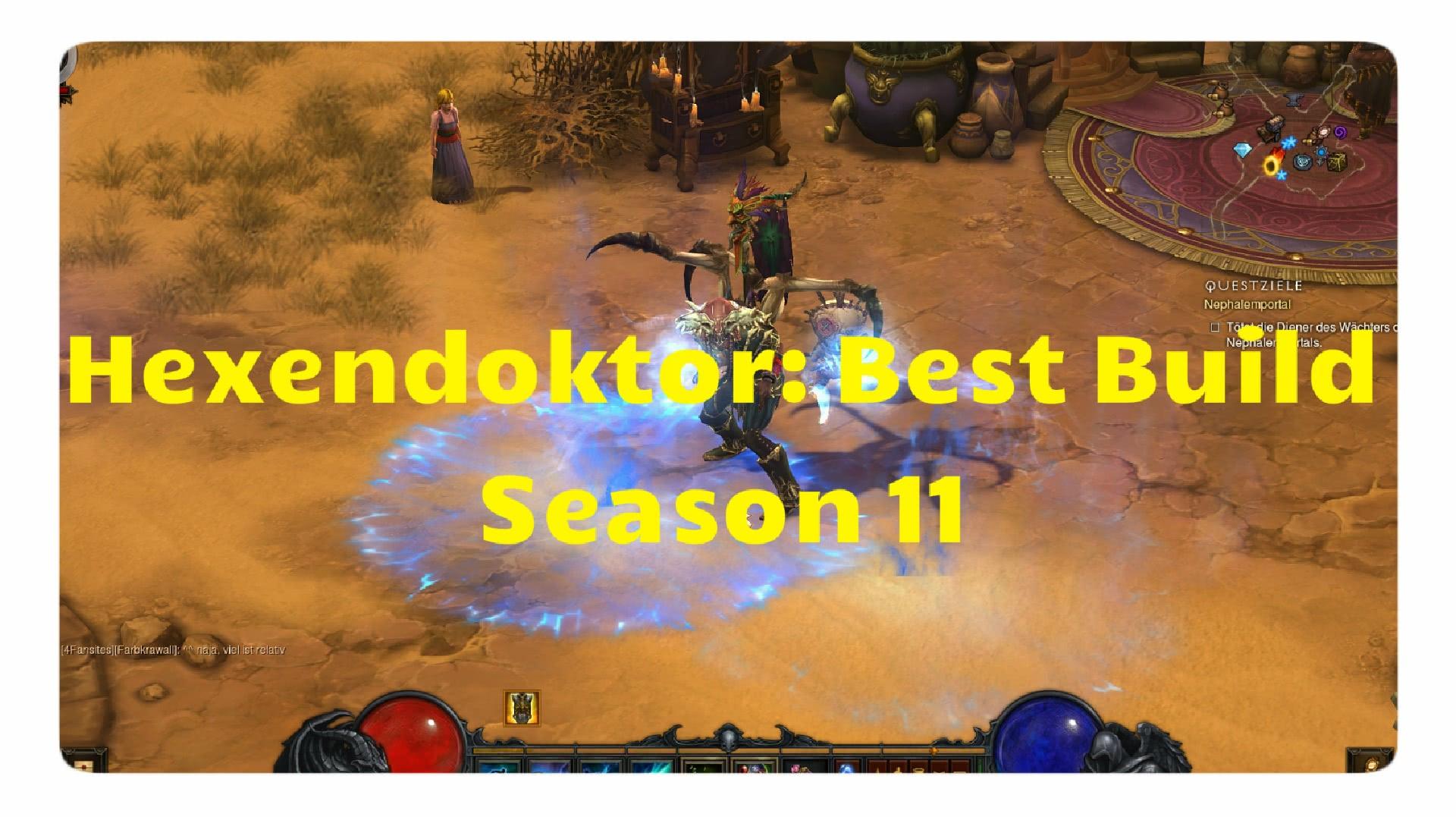 Image Result For Diablo Season Best Build Hexendokto