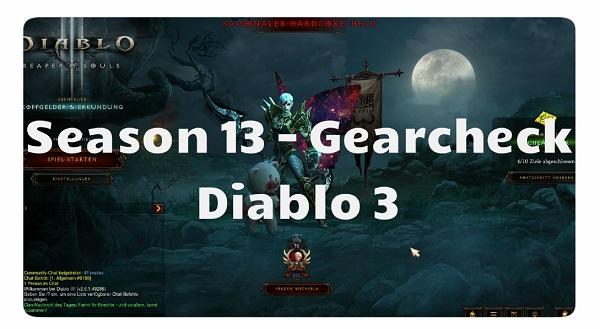 Season 13: Gearcheck
