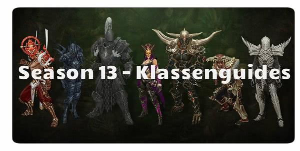 D3 Klassenguides für Season 13 / Patch 2.6.1