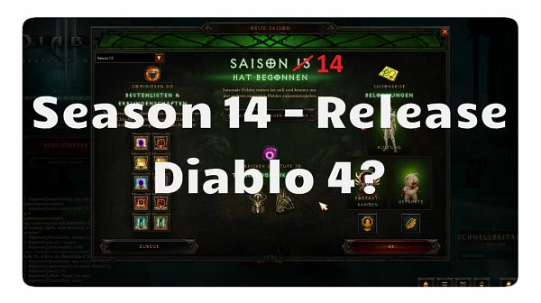 Season 13 Ende und Season 14 Start-Termin