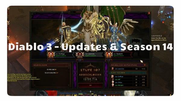 Updates & Season 14