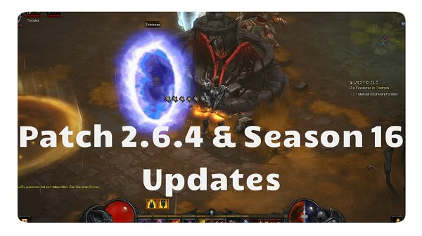 Patch 2.6.4 & S16 Updates