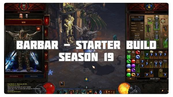 Barbar: Starter Build für Season 19