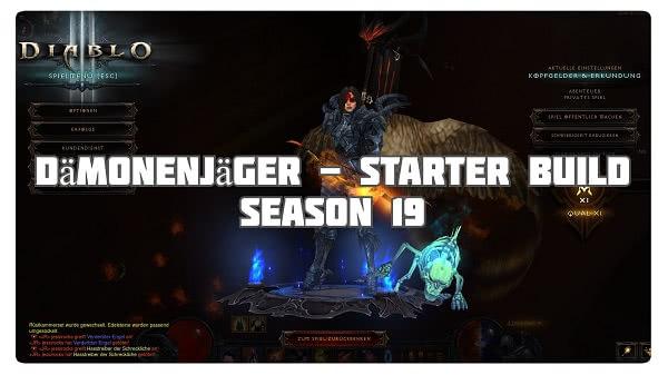 Dämonenjäger: Starter Build Season 19