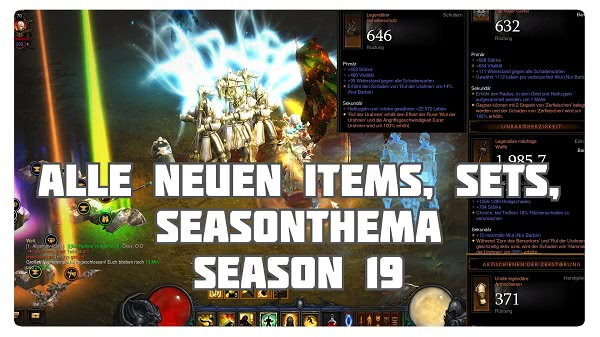 Season 19: Neue Items & Buffs