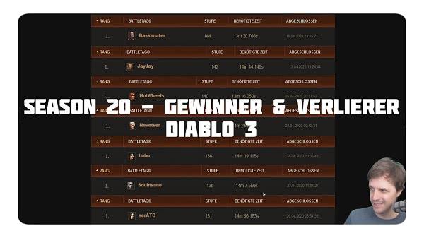 Gewinner & Verlierer von Season 20