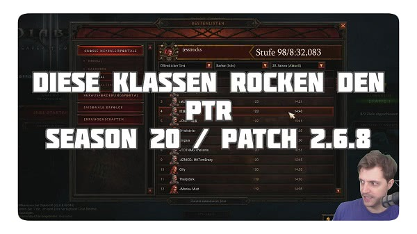 D3 Klassenguides für Season 20 & Patch 2.6.8