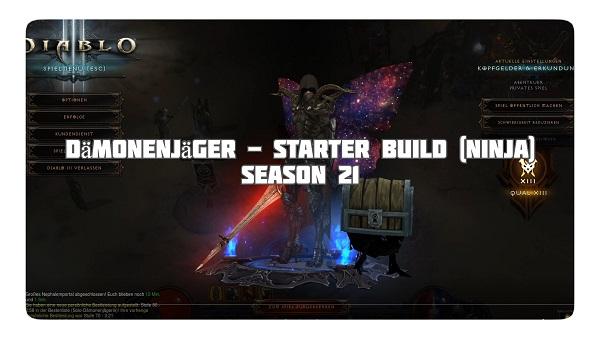 Dämonenjäger: Starter Build für Season 21 (Ninja)