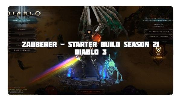 Zauberer: Starter Build für Season 21