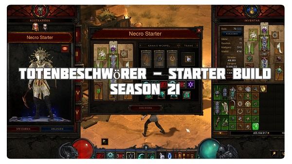 Totenbeschwörer: Starter Build für Season 21