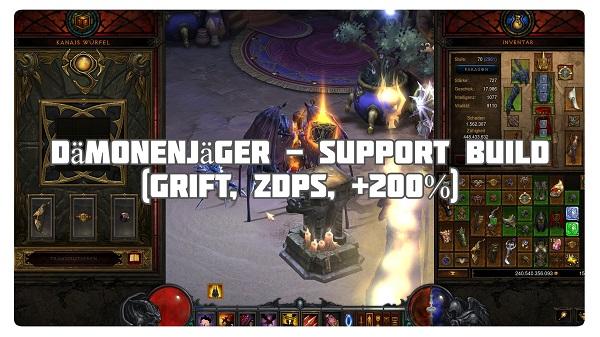 Dämonenjäger: Support Build (zDPS)
