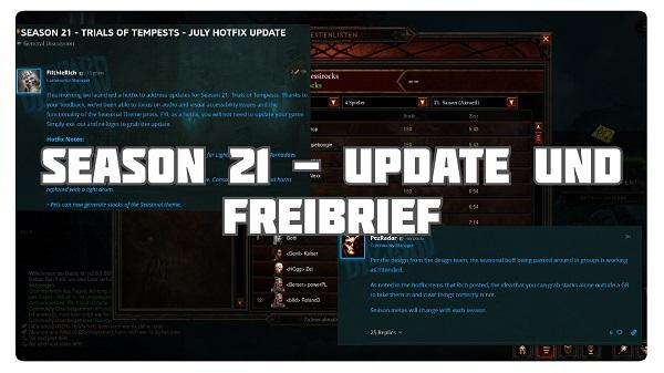Season 21 Update ist da