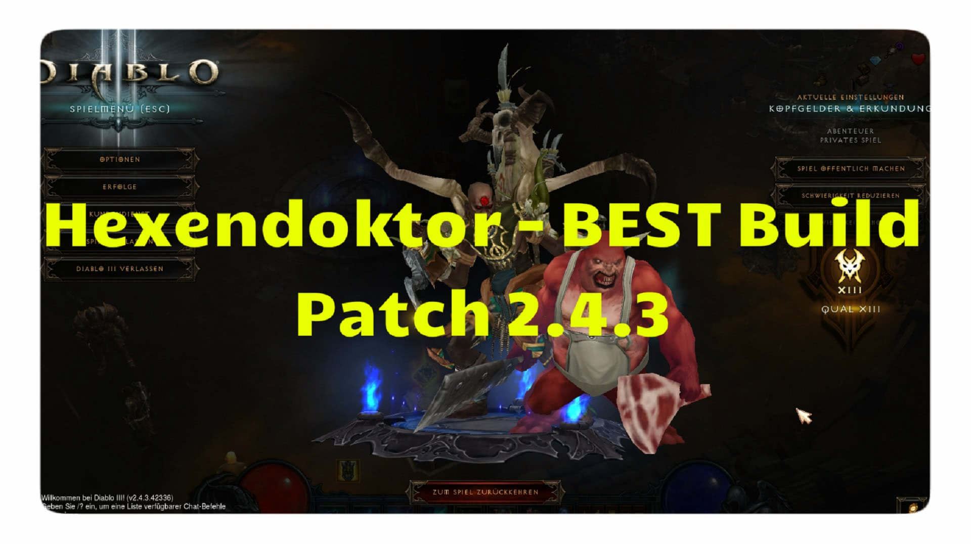 Hexendoktor Season  Best Build