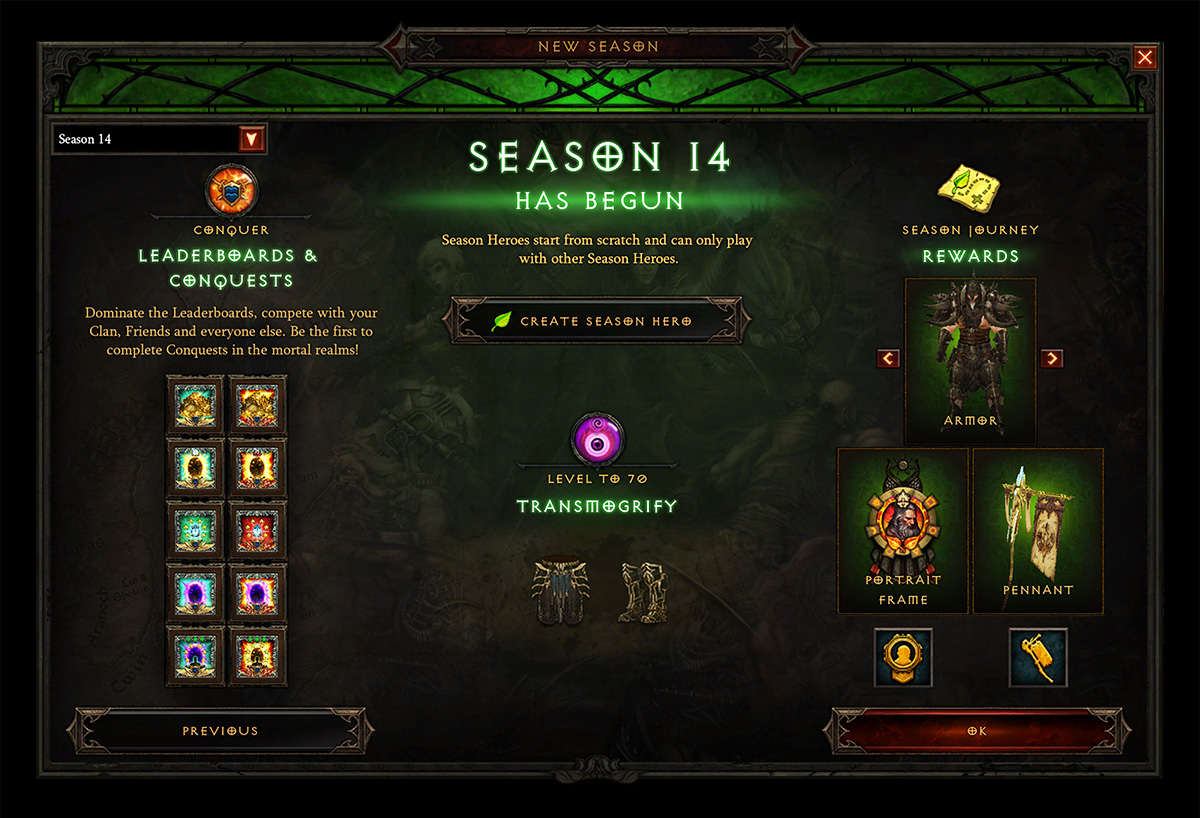 Diablo Monk Builds Season