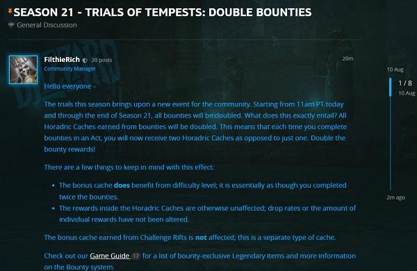Doppelte Bountys in Season 21
