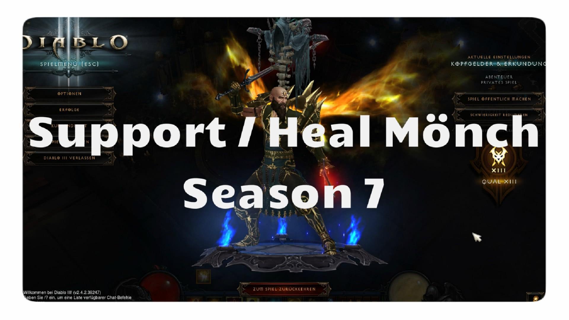 Monk Support Build Season