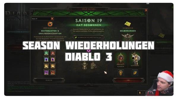 Season Wiederholungen in Diablo
