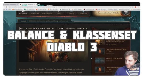 Blizzard über Spielbalance & Design von Klassensets