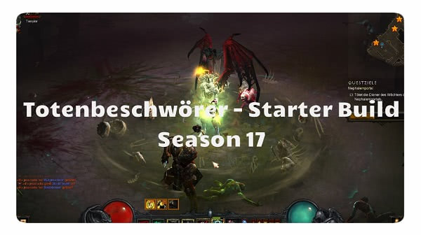 Totenbeschwörer: Starter Build Season 17