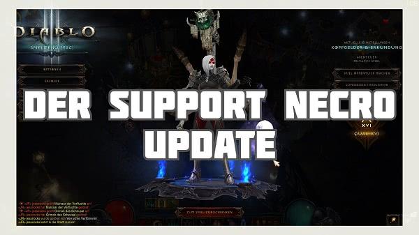 Der Support Build für den Totenbeschwörer