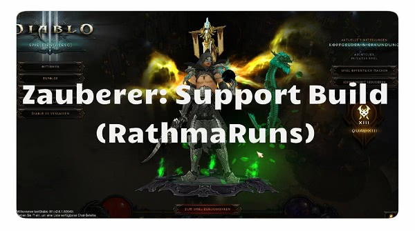 Zauberer: Support Build