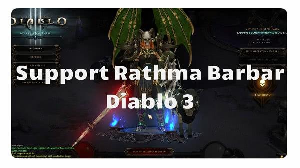 Neuer Support Barbar für Rathma