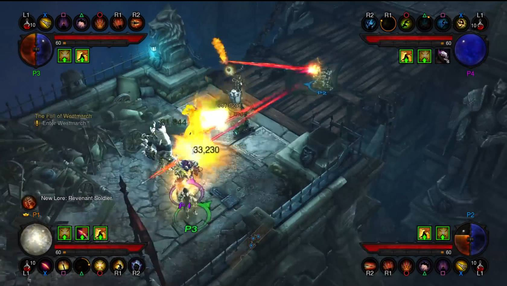 Screenshot aus der Playstatiion 4 Version von Diablo 3