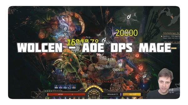 Wolcen: Mage AOE DPS Build