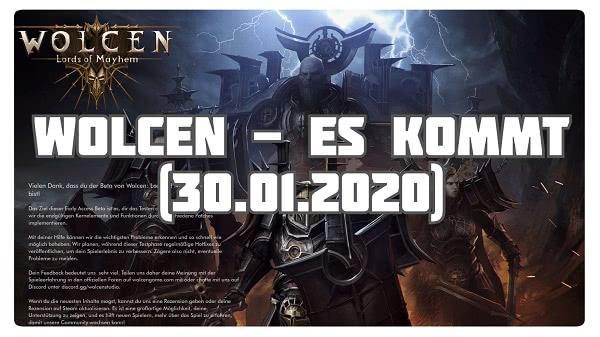 Wolcen: Es kommt (30.01.2020)