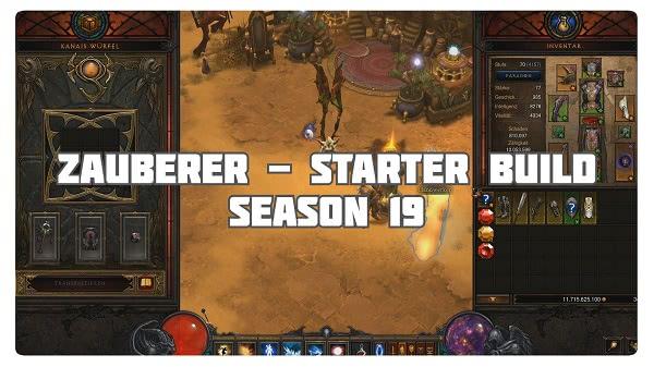 Zauberer: Starter Build Season 19