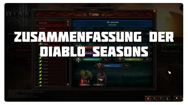 Zusammenfassung der Diablo Seasons